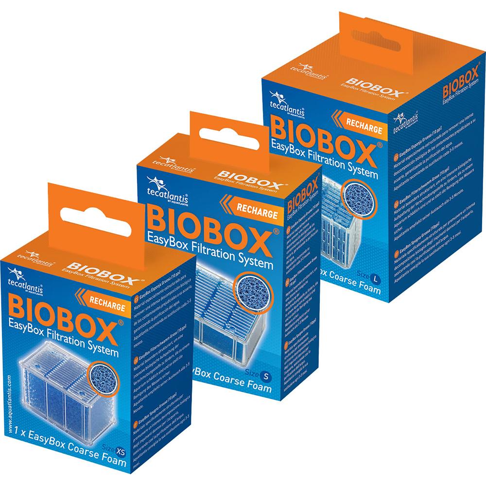 Картридж сменный д/фильтра Aquatlantis BioBox губка грубая L