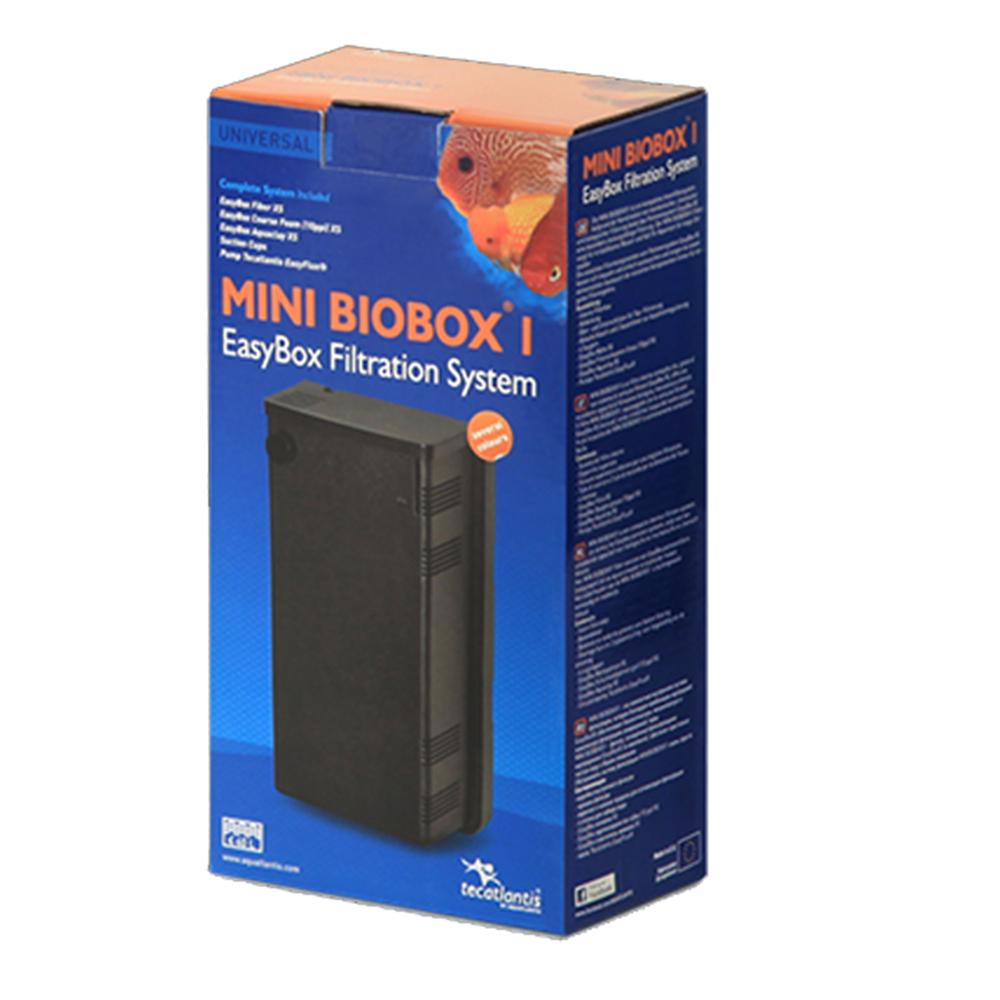 Фильтр внутренний AQUATLANTIS MINI BIOBOX 1 помпа Easy Flux 200 л/ч