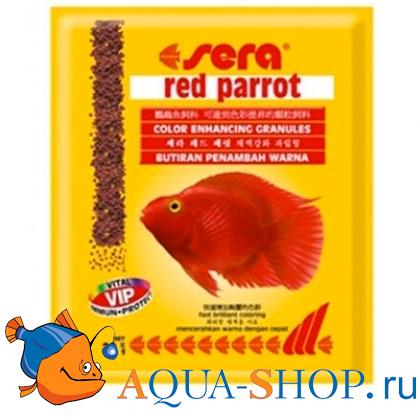 Корм Sera для рыб RED PARROT ПАКЕТ 20 г