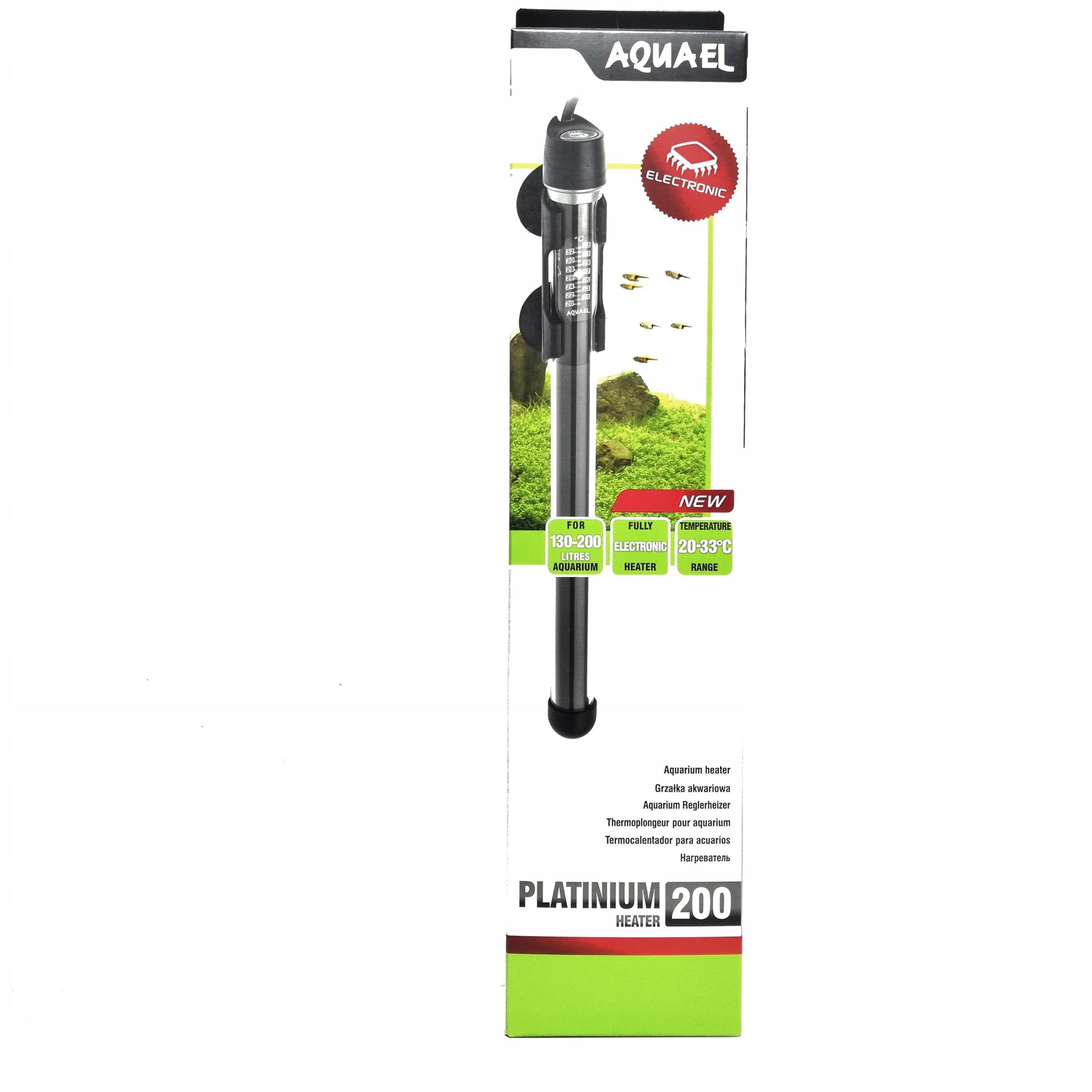 Нагреватель AQUAEL Platinium Heater 200 w на 130-200 л