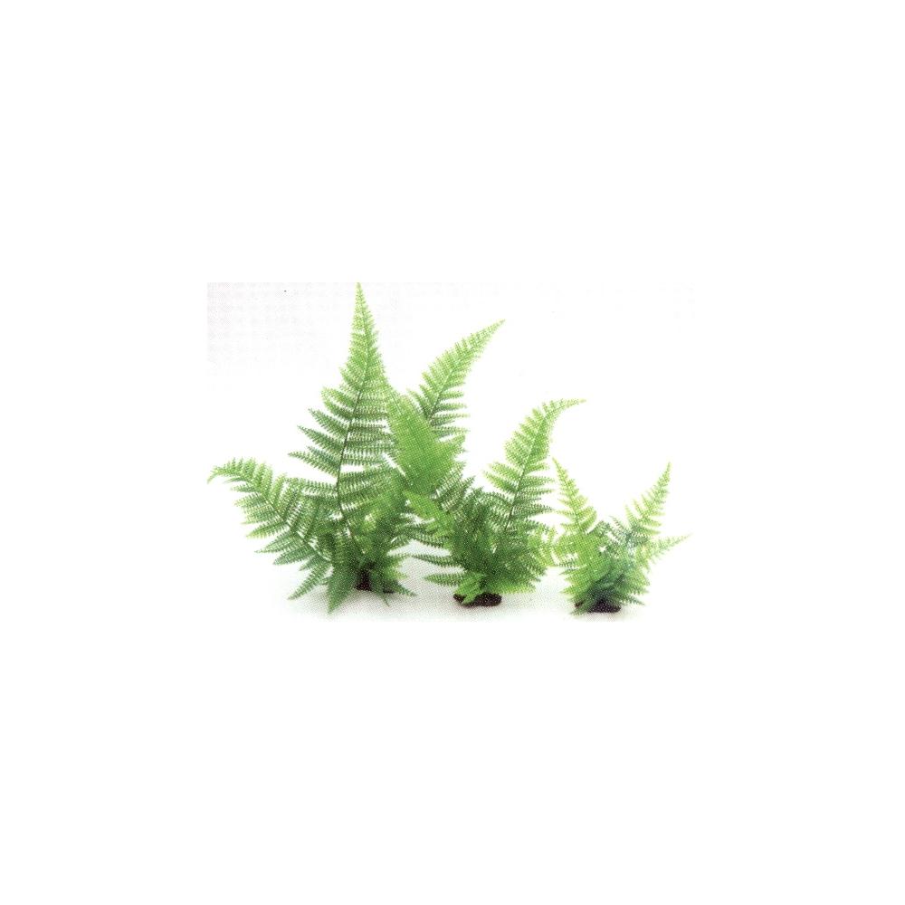 Растение пластиковое Папоротник 20см зеленый
