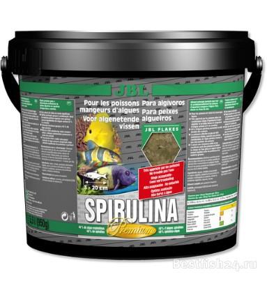 Корм для рыб JBL Spirulina 5,5 л