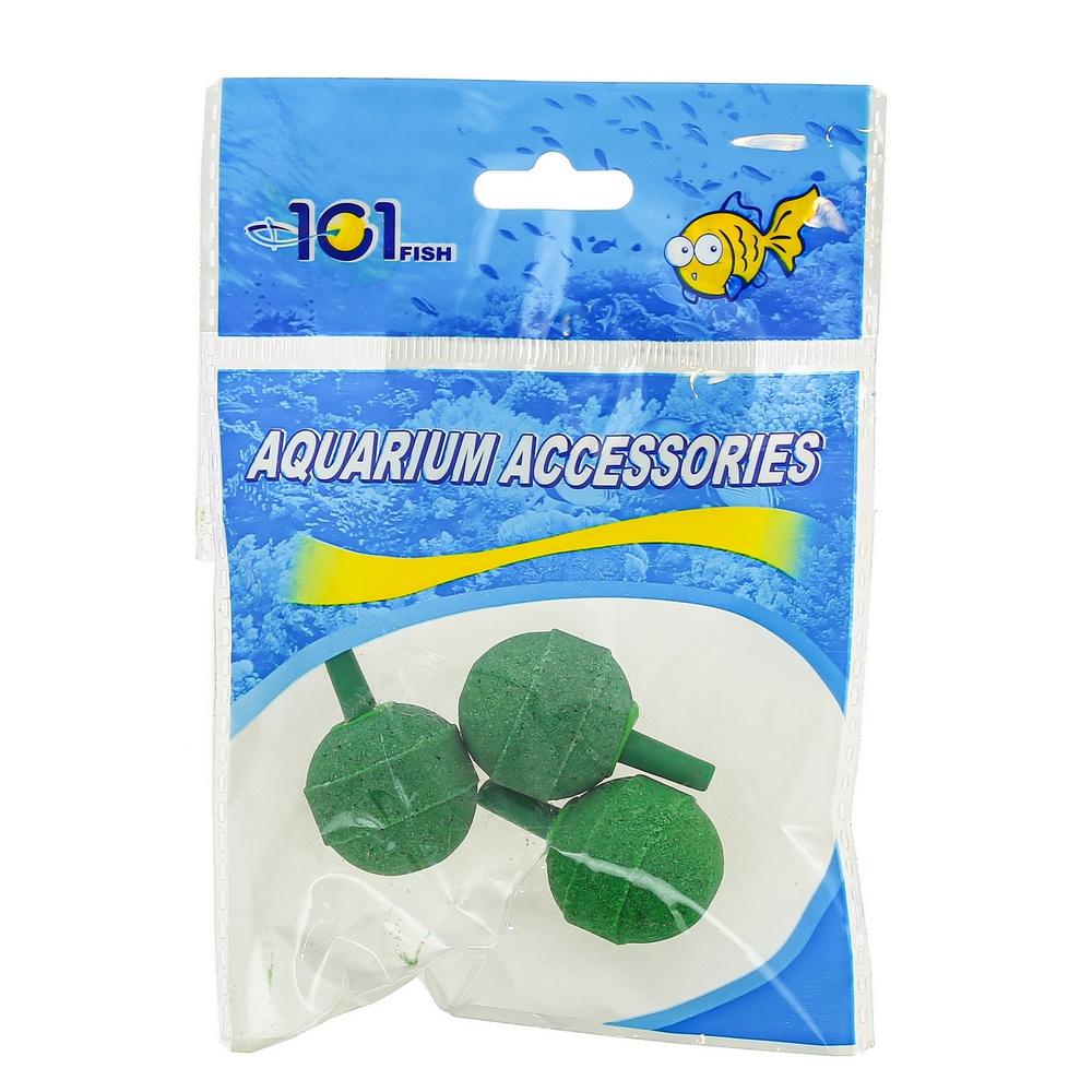 Распылитель камень-шарик зелёный  малый (3шт)