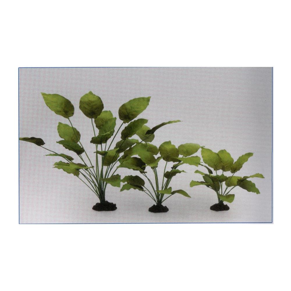 Растение шелковое Анубиас Бартера 40см
