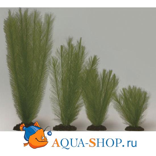 Растение шелковое Перистолистник, зеленое 30см
