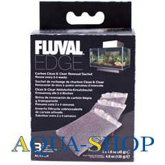 Уголь активированный HAGEN для фильтра Fluval EDGE