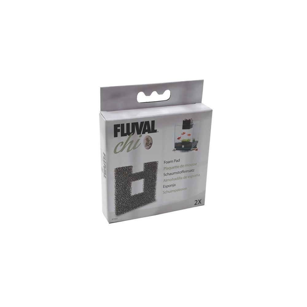 Картридж для фильтров в аквариумах Hagen Fluval Chi тонкой очистки губчатый угольный (2шт/уп)