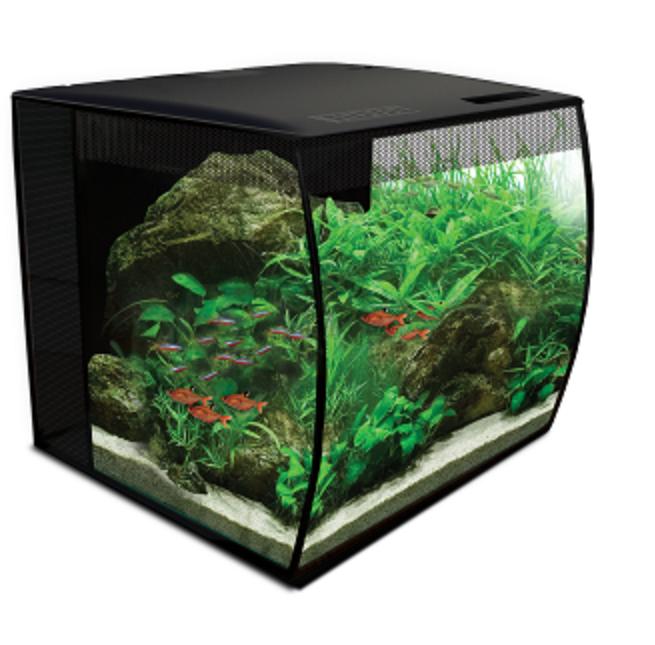 Аквариум Hagen Fluval Flex 34 л с изогнутым стеклом
