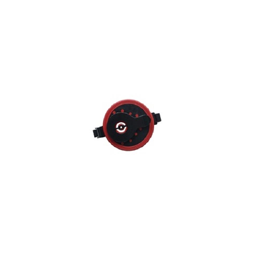 Крышка ротора затворная для фильтров FLUVAL 106 (черно-красная)