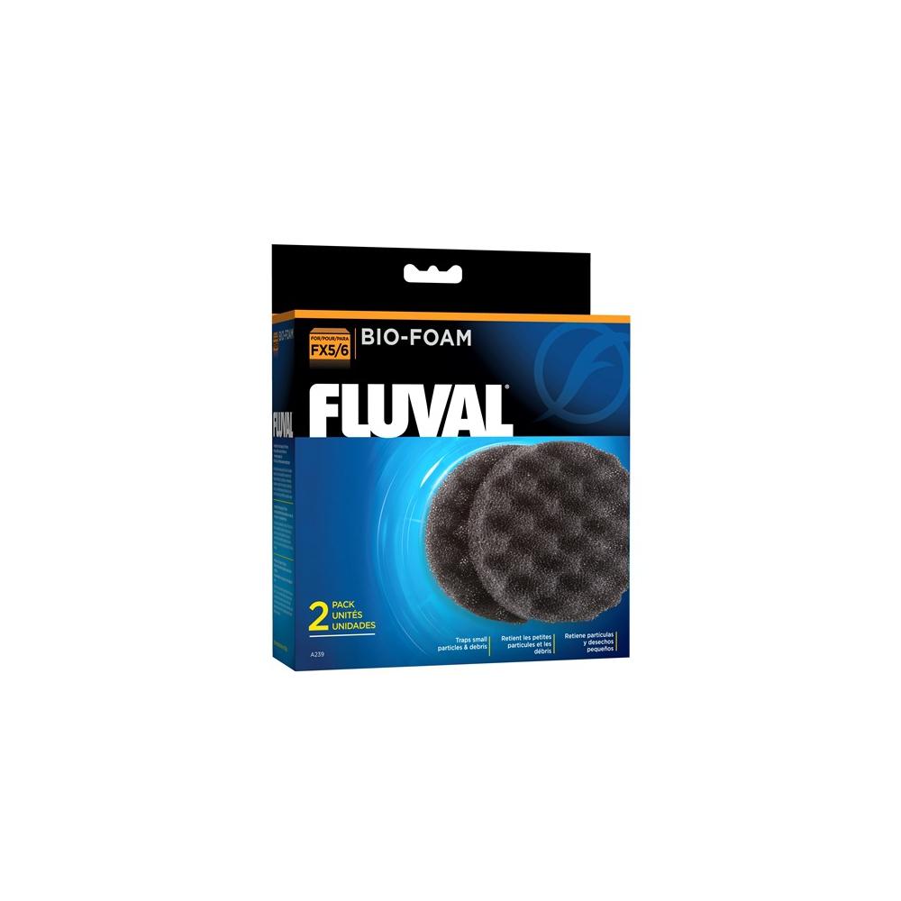 Губка механической и биологической очистки для фильтров FLUVAL FX5/FX6 (2 шт)