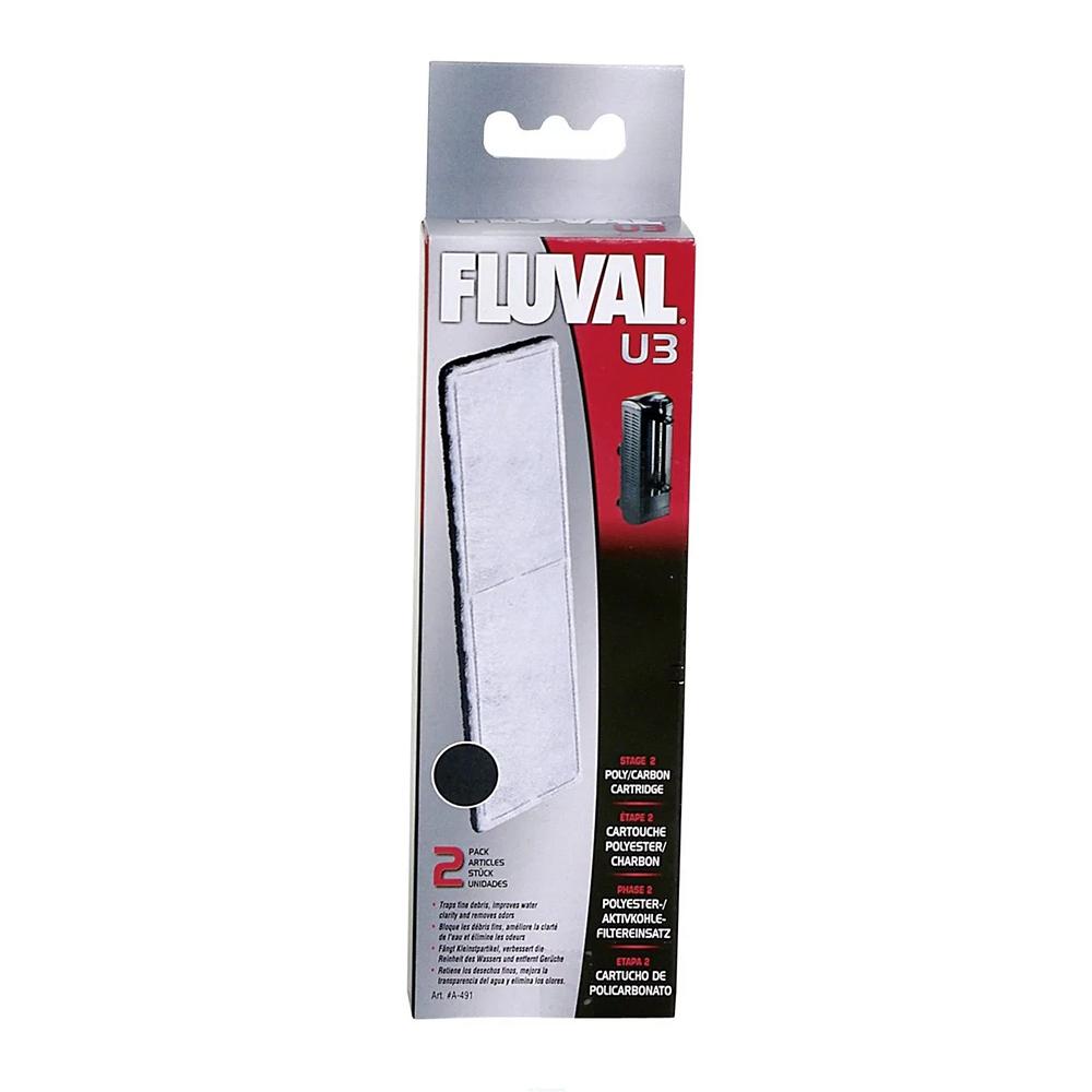 Губка угольная для фильтра Fluval U3