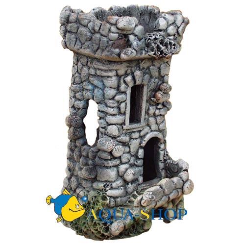 Грот для аквариума из глины