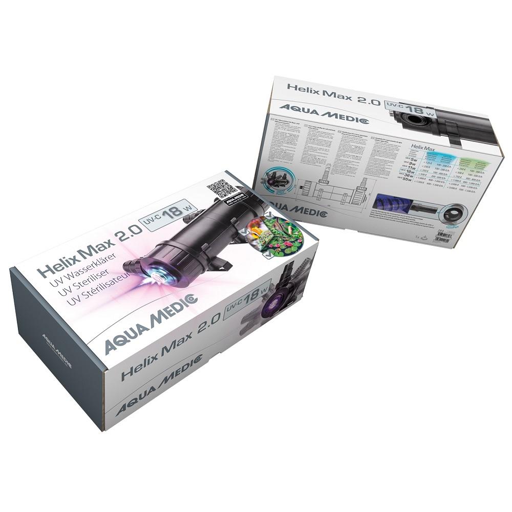 Стерилизатор Aqua Medic UV HELIX MAX 2.0  18W
