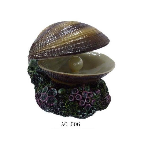"""Грот Meijing """"Морская раковина с жемчужиной"""" (распылитель) 10*10*8"""