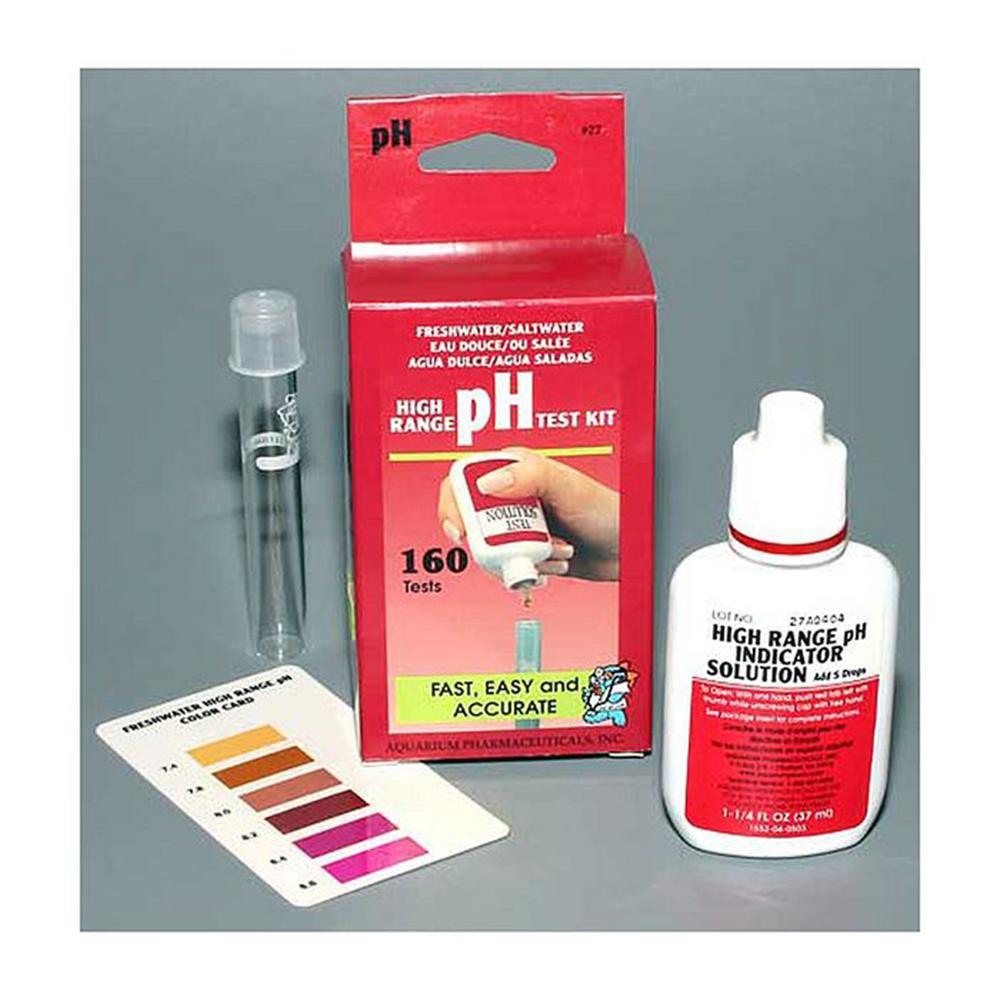 Тест API pH 7.2-8.8 (кислотность)
