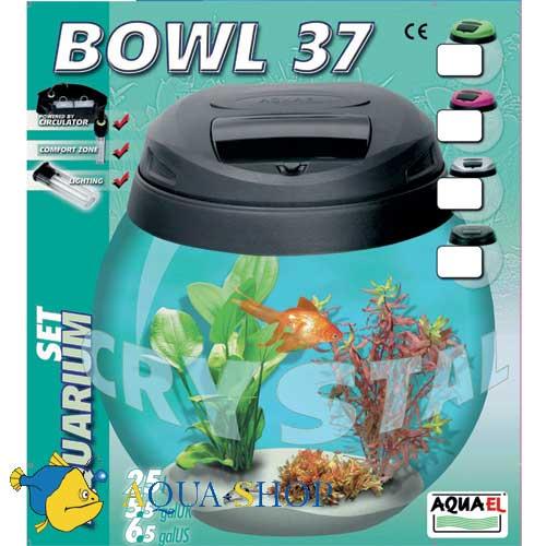 Аквариум Aquael BOWUL 37