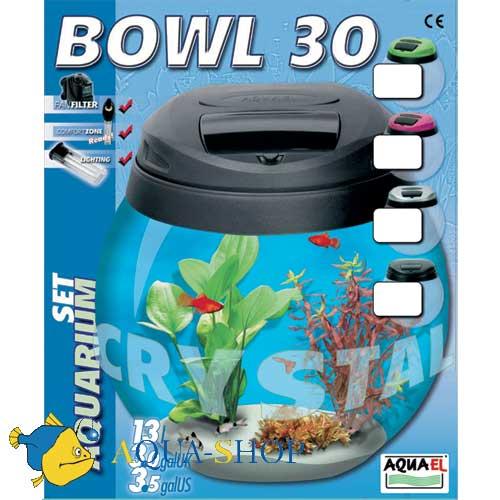 Аквариум Aquael BOWUL 30