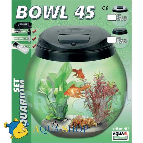 Аквариум Aquael BOWUL 45