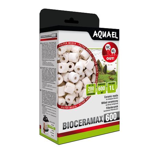 Наполнитель Aquael BIO CERAMAX ULTRA PRO 600 керамические цилиндры 1000 мл