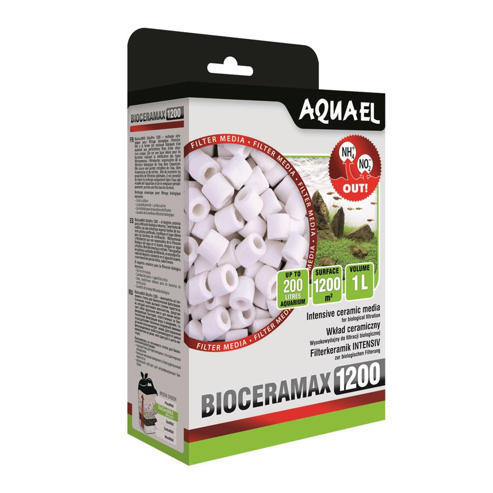 Наполнитель Aquael BIO CERAMAX ULTRA PRO 1200 керамические цилиндры 1000 мл