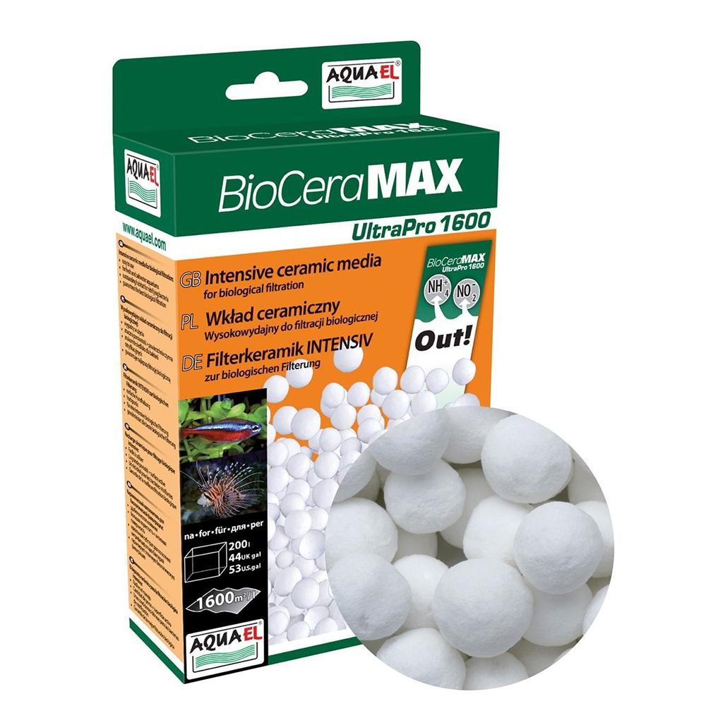 Наполнитель AQUAEL керамический ULTRA PRO 1600 шарики 1000мл