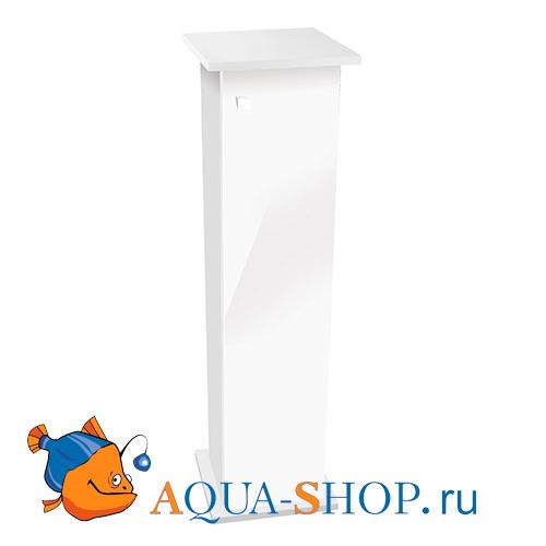 Тумба для аквариума Aquael SHRIMP Set/NANO REEF 30л белая 30*30*111 см одна дверь