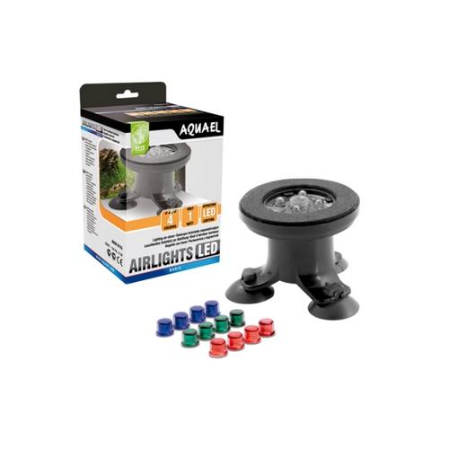 Распылитель Aquael Air Lights со светодиодами и цветными насадками 1