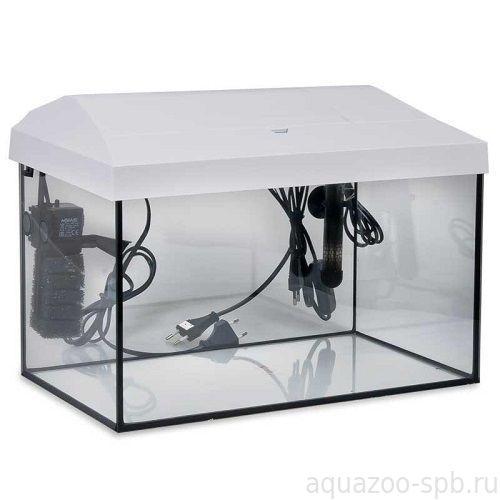 Аквариум Aquael LEDDY SET  80 (75)  прямой белый 1*16W