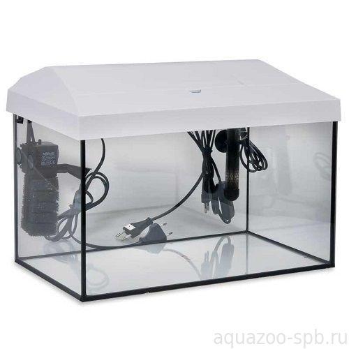 Аквариум Aquael LEDDY SET 60 (54 л) прямой белый (LT 1*6w Sunny)