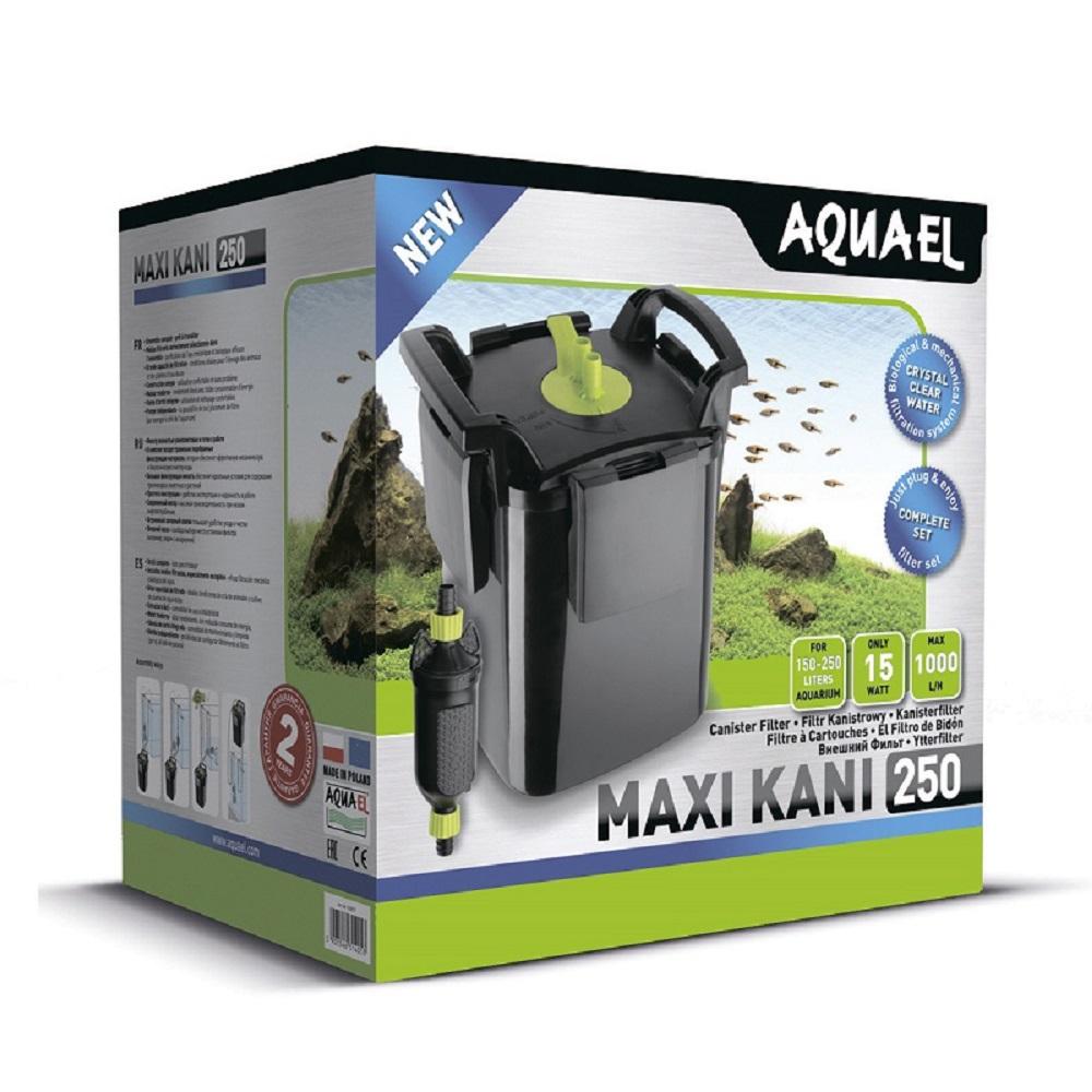 Фильтр внешний AQUAEL MAXI KANI 250 с выносной помпой