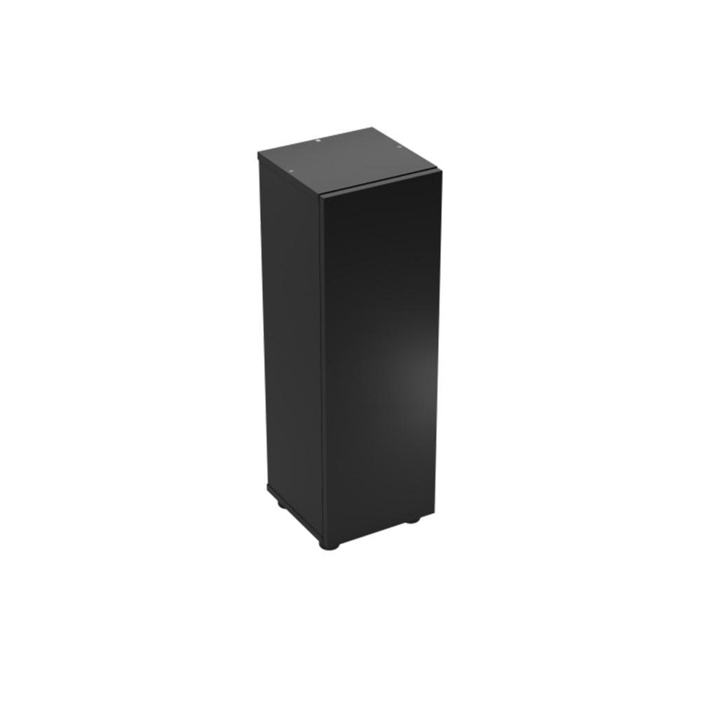 Тумба для аквариума Aquael SHRIMP Set/NANO REEF 30л черная 30х30х90см одна дверь