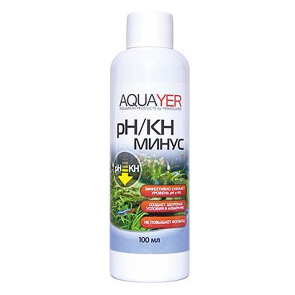 Кондиционер для воды AQUAYER pH/KH минус 100мл