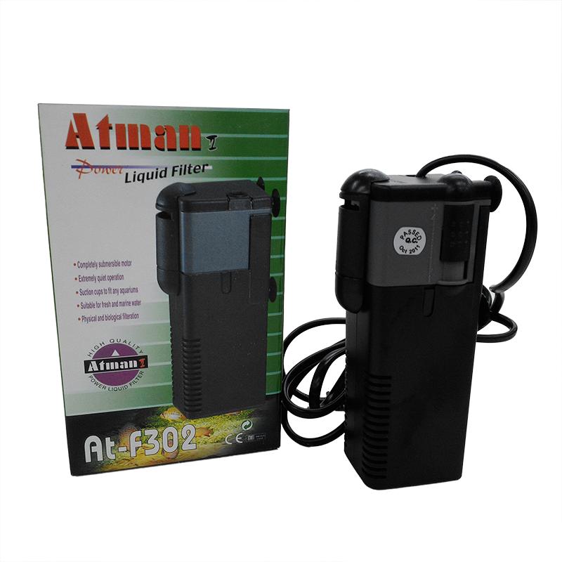 фильтр внутренний Atman At F302 для аквариумов до 60 литров 450 л ч 6 5w купить в интернет магазине Aqua Shop