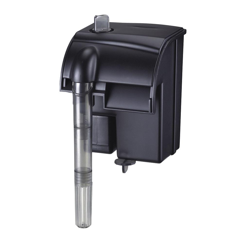 Фильтр рюкзачный Atman HF-0100 для аквариумов до 20 л, 190 л/ч, 3W (черный корпус)