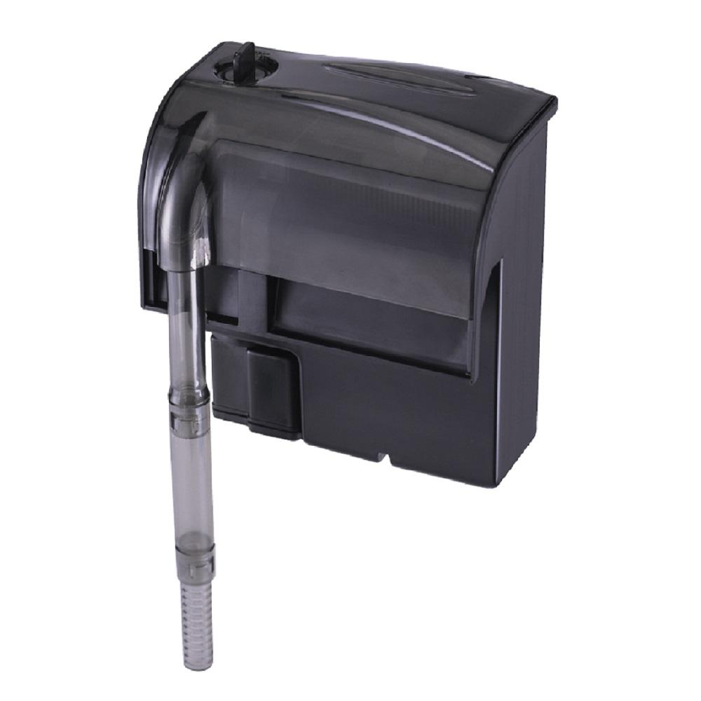 Фильтр рюкзачный Atman HF-0400 для аквариумов до 50 л, 350 л/ч, 3W (черный корпус)