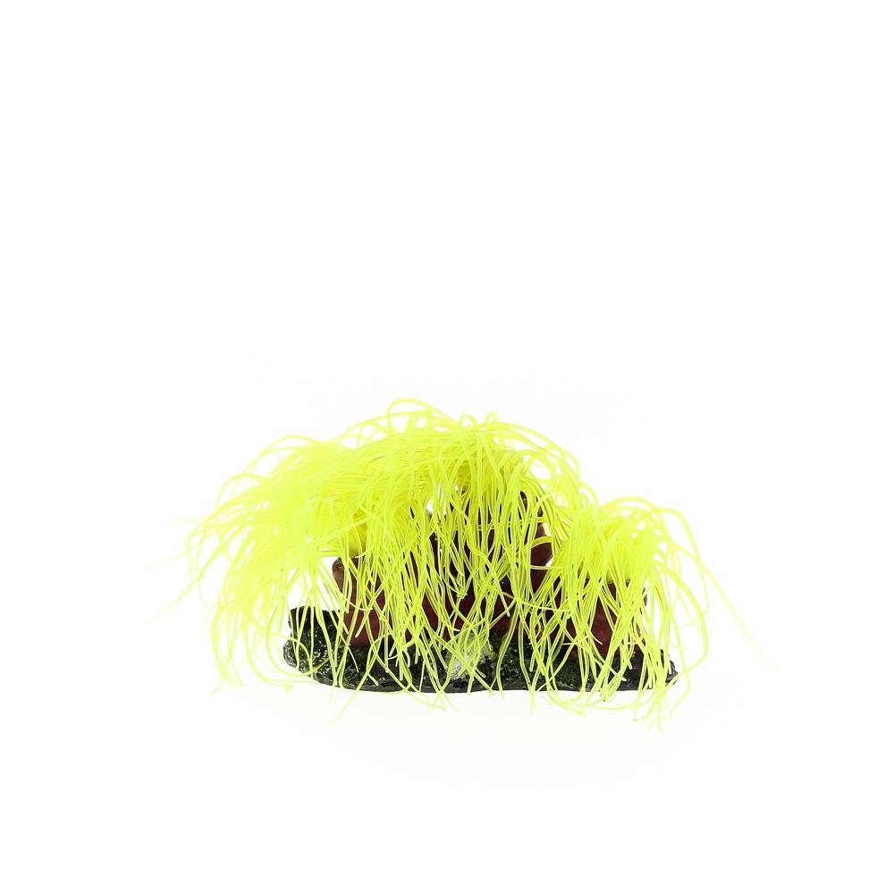 Коралл пластиковый желтый 14х11х9см (CA003Y)