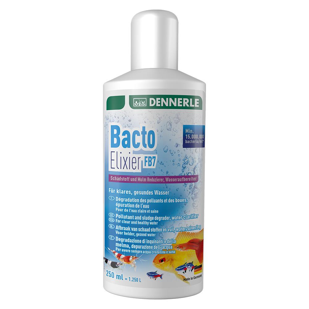 Кондиционер содержащий бактерии для фильтра Dennerle Bacto Elixier FB7, 250 мл на 1250 л