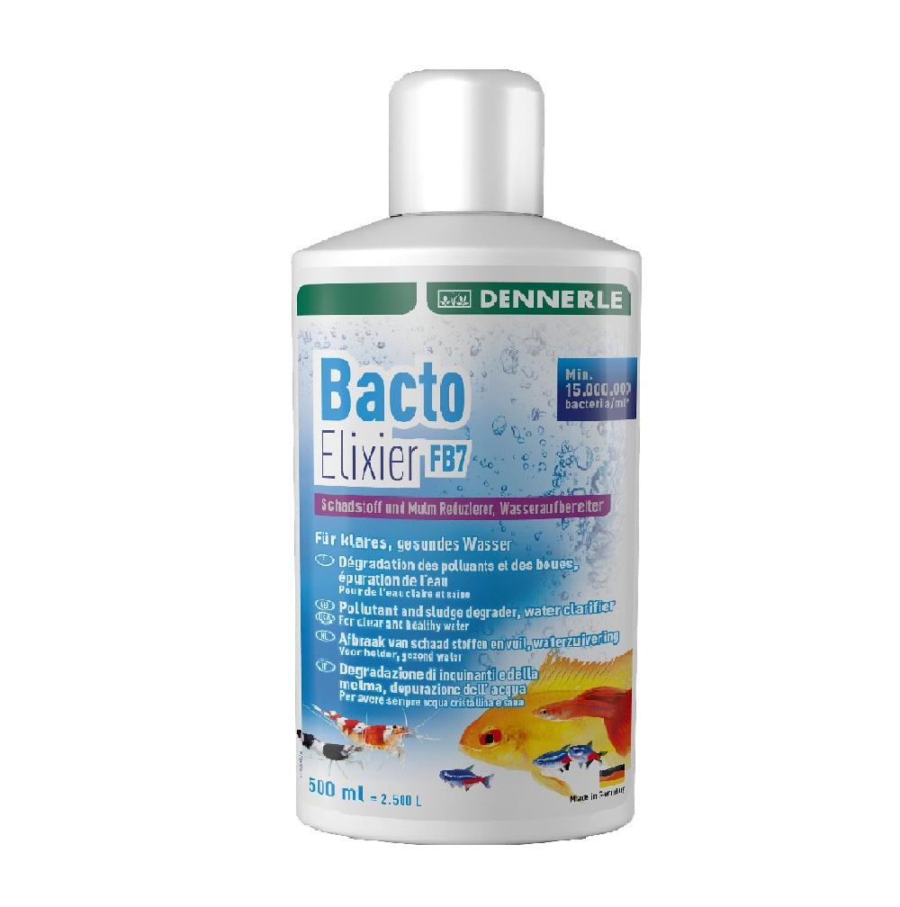 Кондиционер содержащий бактерии для фильтра Dennerle Bacto Elixier FB7, 500 мл на 2500 л