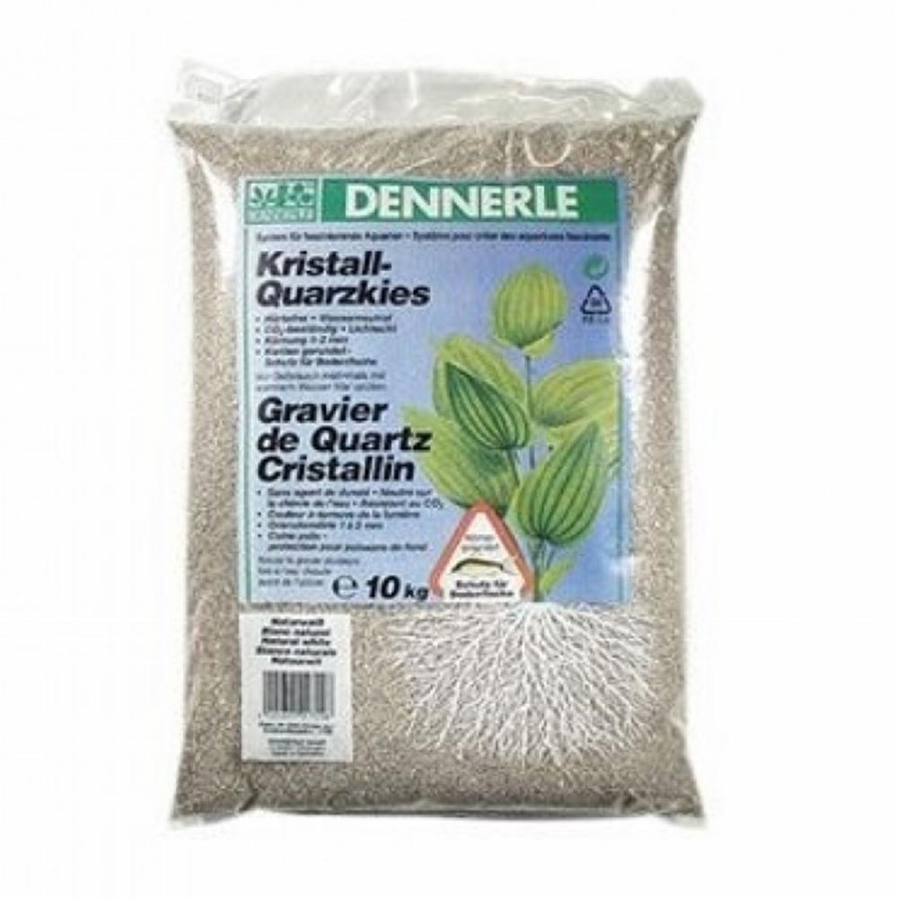 Грунт Dennerle Kristall-Quarz природный белый 1-2 мм 10 кг