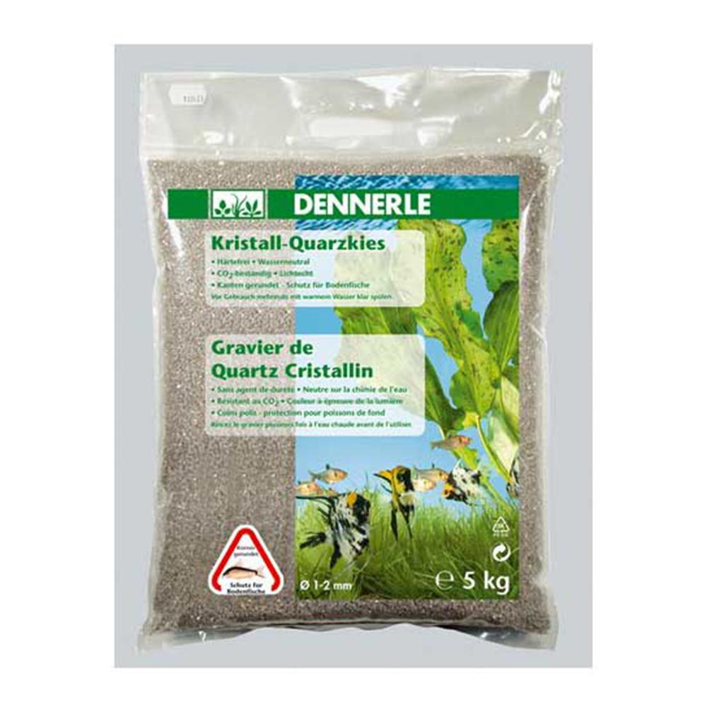 Грунт Dennerle Kristall-Quarz природный белый 1-2 мм 5 кг