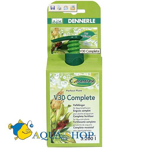 Удобрение DENNERLE V30 Complete полный комплекс 250мл/8000л