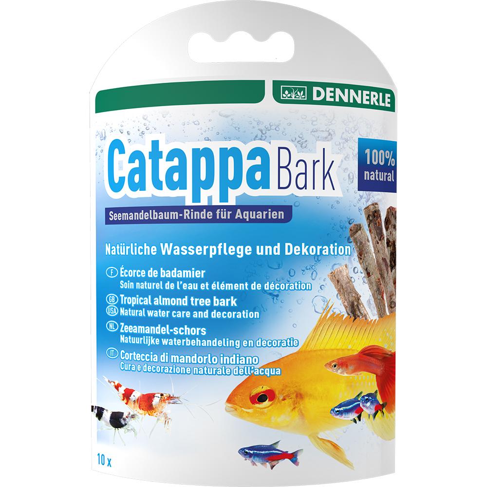 Кора тропического миндального дерева Dennerle Catappa Barks, 8 шт. по 12 см на 800 литров воды