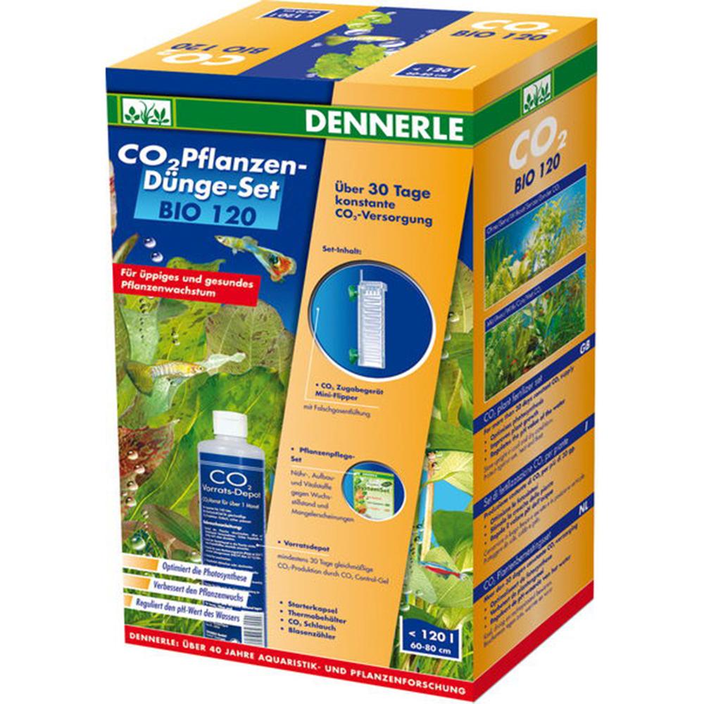 Система СО2 в аквариум Dennerle BIO 120 CO2 Profi KomplettSet