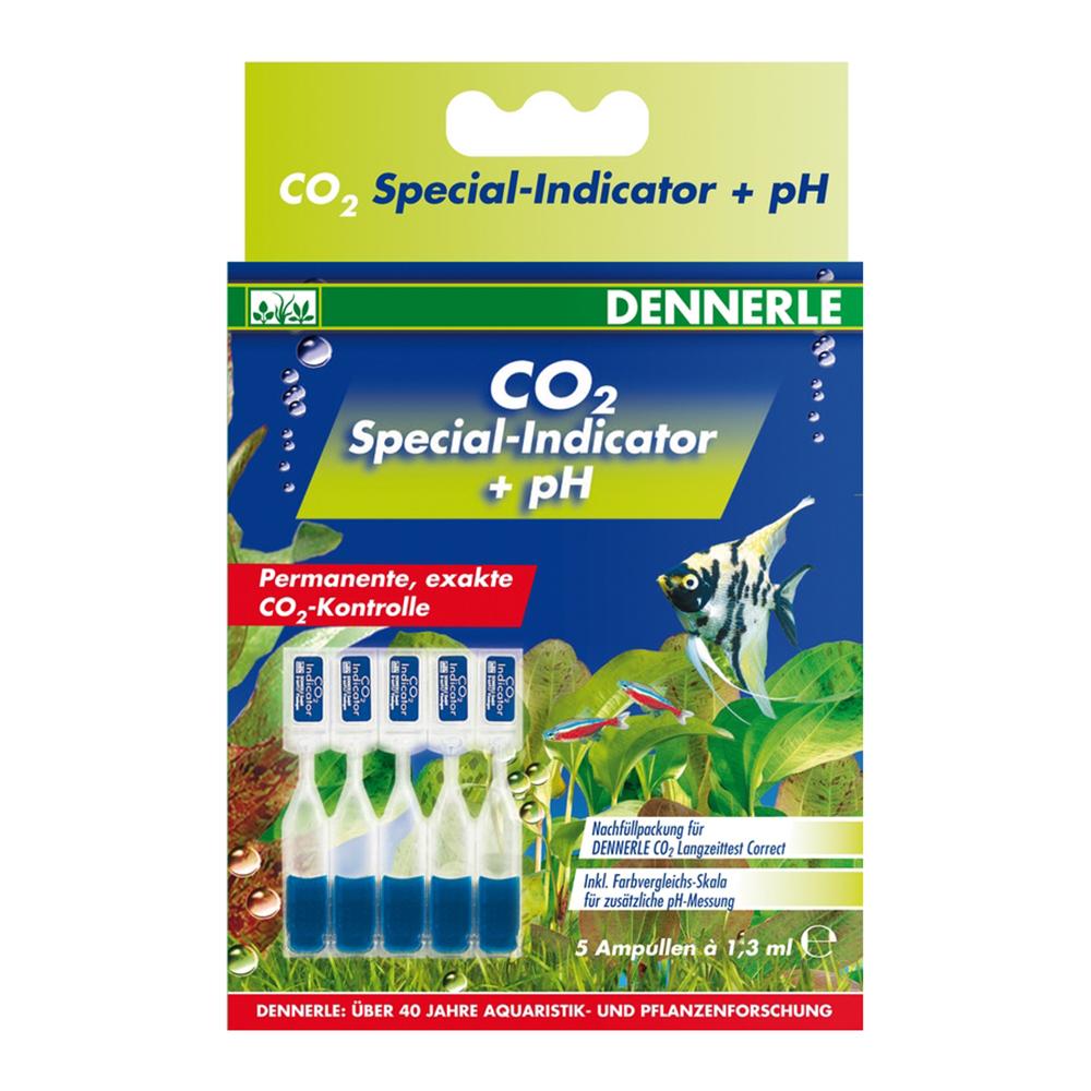 Комплект индикаторных жидкостей CO2 Dennerle