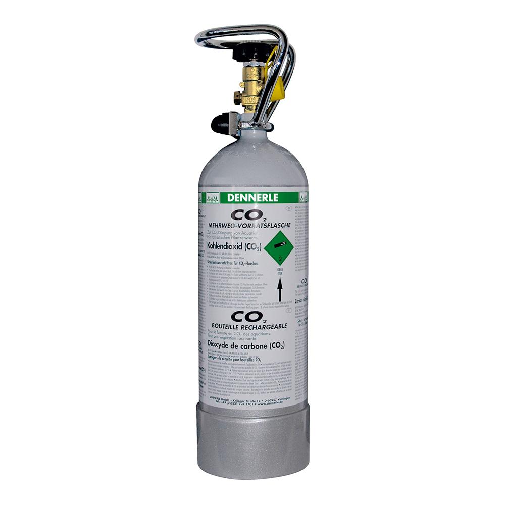 Баллон CO2 Dennerle многоразовый заправляемый на 2000 г MEHRWEG 2000 g