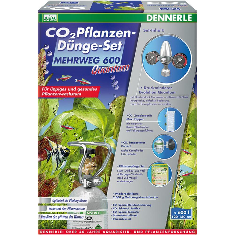 Система CO2 Dennerle MEHRWEG 600 Quantum