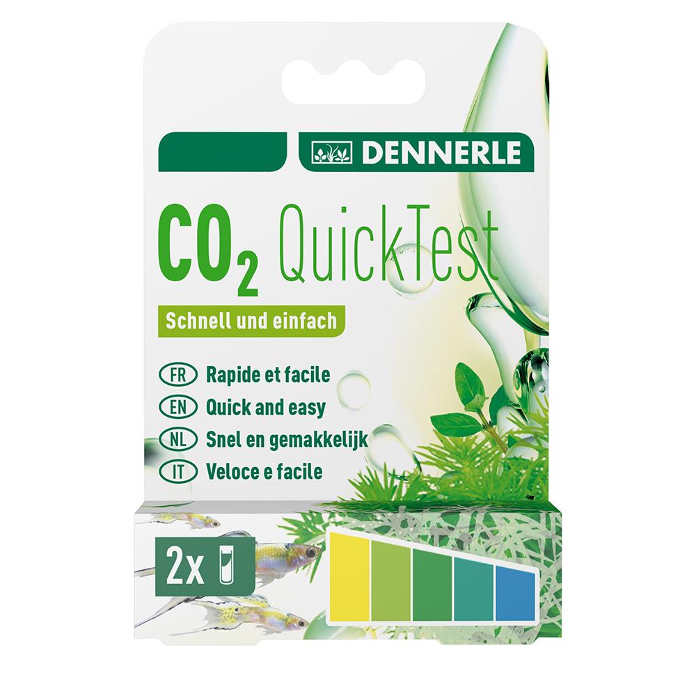 Тест Dennerle CO2 QuickTest на содержание углекислого газа в аквариумной воде