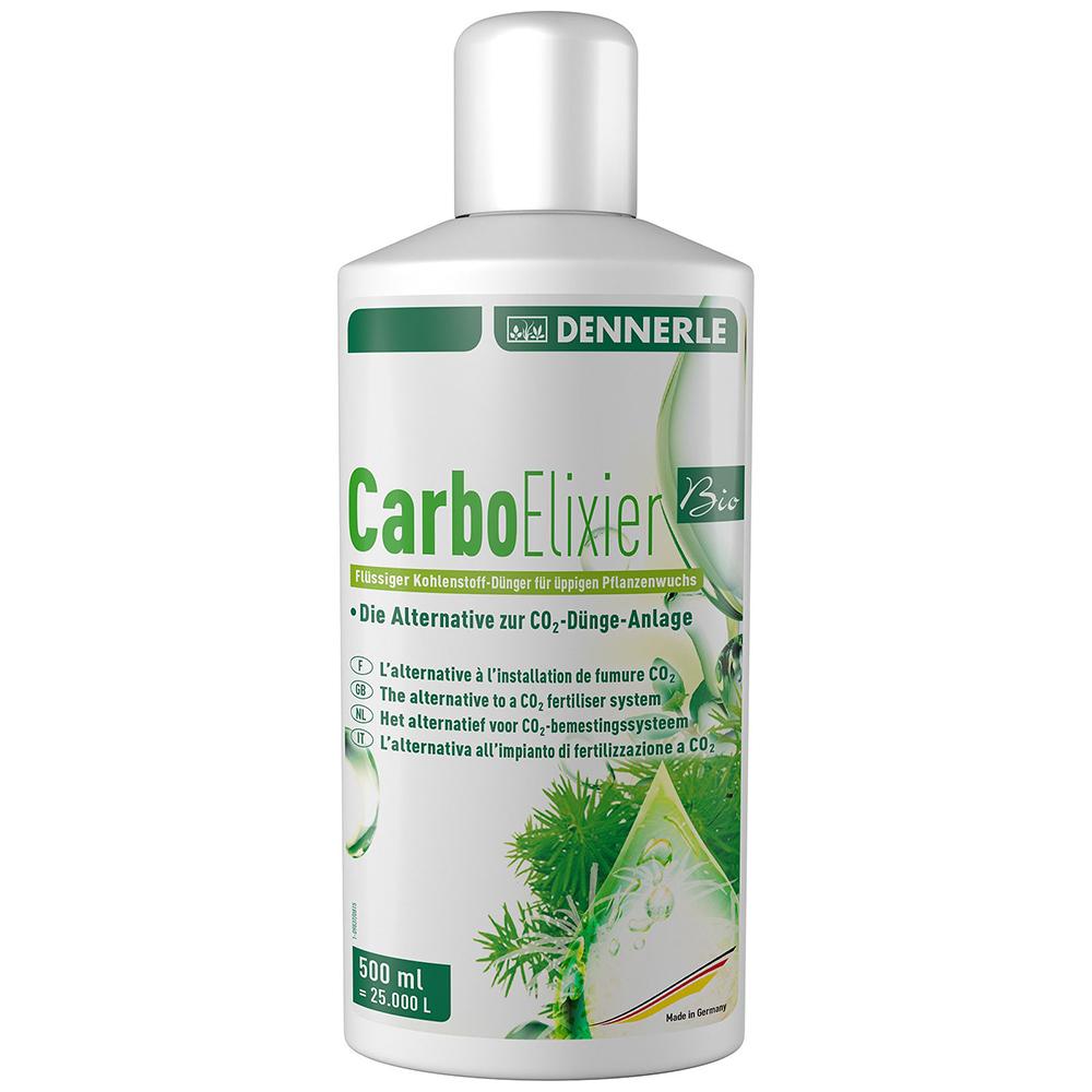Удобрение Dennerle Nano Carbo Elixier BIO жидкое углеродное с калием и микроэлементами, 500 мл на 25000 л.