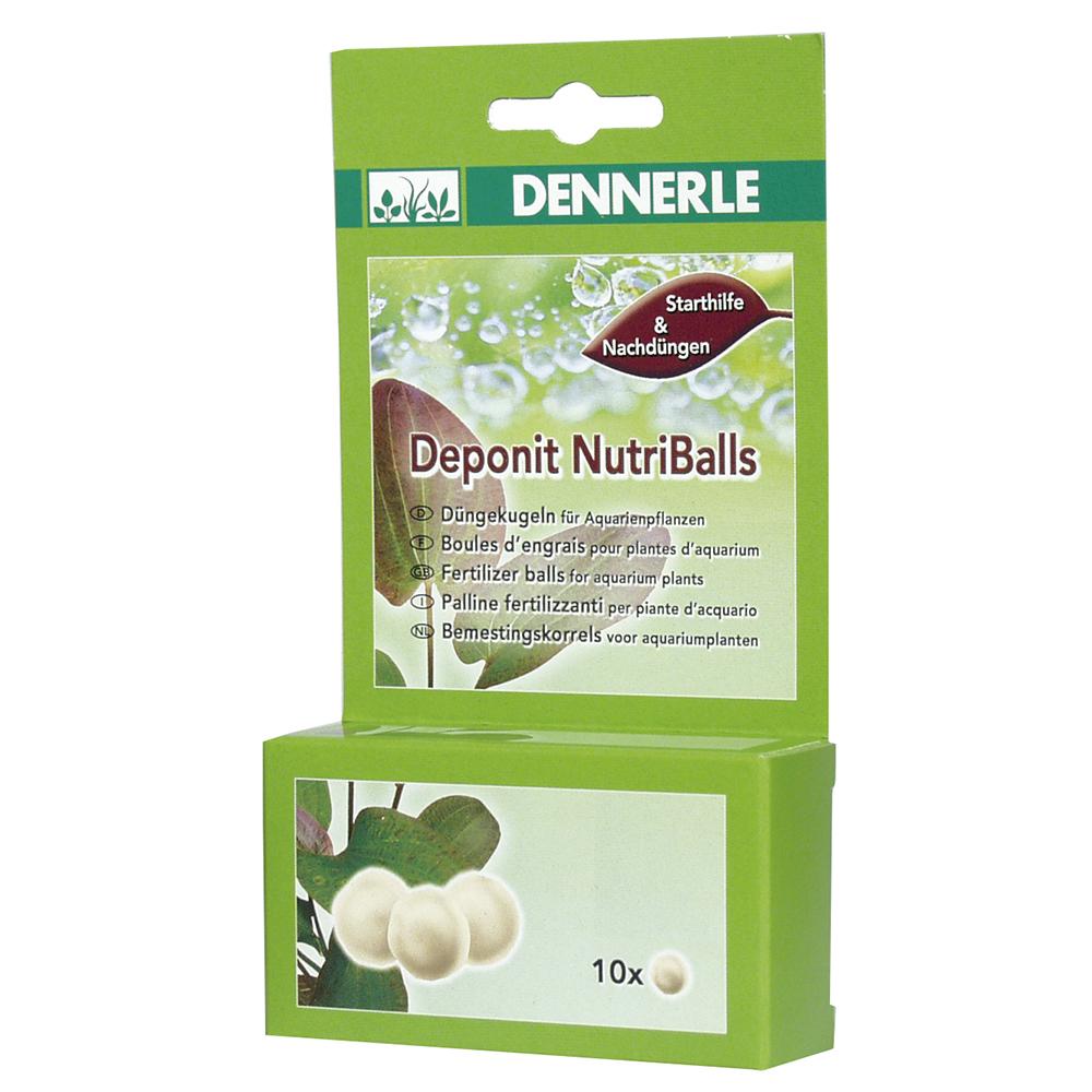 Удобрение DENNERLE Deponit NutriBalls универсальное 10шт на 3-10 растений