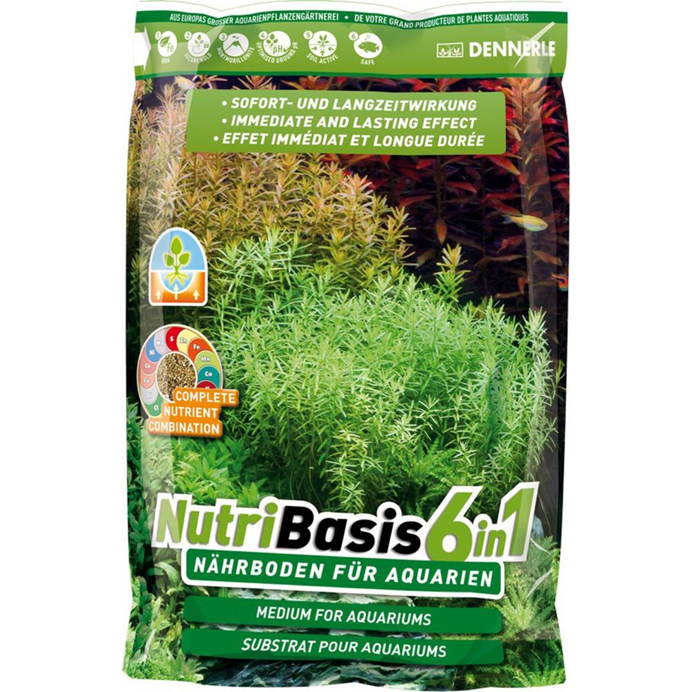 Грунт питательный DENNERLE NutriBasis 6in1 4,8кг (пакет)